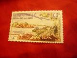 Timbru Laos 1960 - Peisaje - val. 12k, Nestampilat