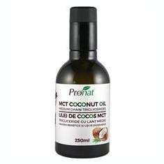 Ulei de Cocos MCT 250ml Pronat Cod: PRN7658