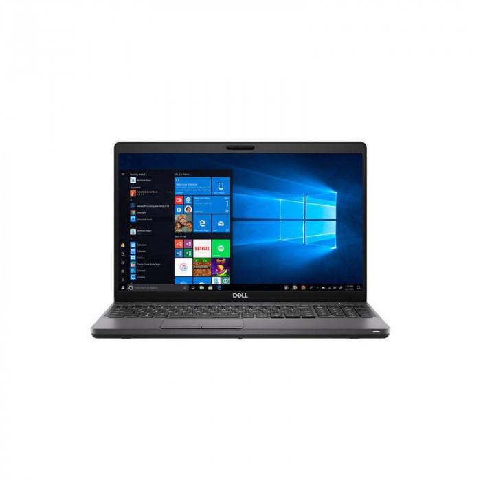 Laptop Dell Latitude 5501 15.6 inch FHD Intel Core i7-9850H 16GB DDR4 512GB SSD Backlit KB FPR Windows 10 Pro Black 3Yr BOS