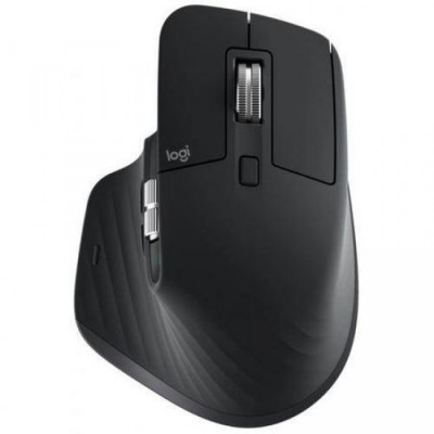 Mouse Logitech MX Master 3, Wireless, USB Receiver, Bluetooth, 4000 DPI, Negru foto