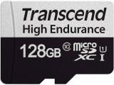 Card de memorie Transcend 128GB High Endurance UHS-I U1 Class 10 + Adaptor