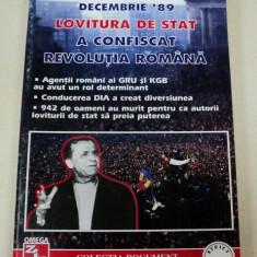 DECEMBRIE '89.LOVITURA DE STAT A CONFISCAT REVOLUTIA ROMANA-SERBAN SANDULESCU