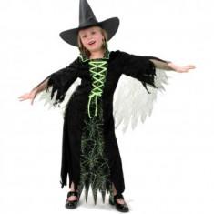 Costum Copii pentru serbare Vrajitoare 116 cm