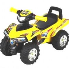 ATV pentru copii Explorer - galben, Baby Mix