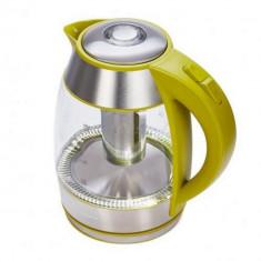 Fierbator De Ceai Cu Filtru, 1.8L, Culoare Verde, Hek-Tf2200Gr, Heinner