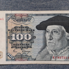 100 Mark 1980 Germania RFG, marci germane