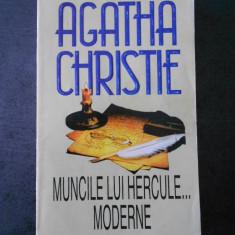 AGATHA CHRISTIE - MUNCILE LUI HERCULE... MODERNE