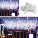 Instalatie tip turturi, 12 metri cu 300 de leduri – Lumina Alb Rece