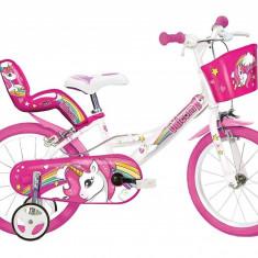 Bicicleta copii 16'' - UNICORN PlayLearn Toys
