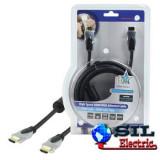 Cablu HDMI tata - HDMI tata High Speed cu Ethernet 3m, HQ