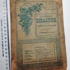 REVISTA CONVORBIRI DIDACTICE - AUG , SEPTEMBRIE 1900