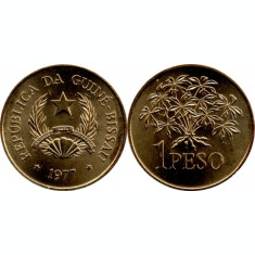 Guinea Bissau 1977 - 1 peso UNC