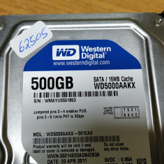 HDD PC Western Digital 500GB Sata #62505LOR