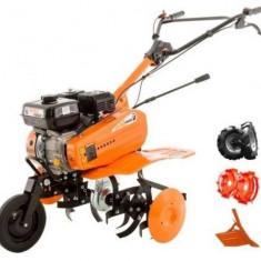 Motosapa Ruris DAC 7000ACC1, 7.0 CP + roti cauciuc, roti metalice 300 fara manicot, rarita ajustabila