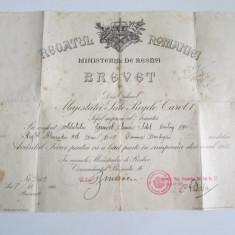 Brevet Avantul Tarei pentru campania din 1913