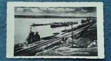 511 - Turnu Severin Ruinele Podului Traian, carte postala circulata Cenzurat 13, Necirculata, Fotografie