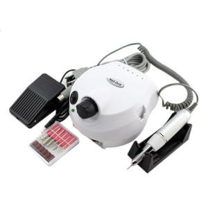KIT aparate, Lampa Uv LED Sun5, Freza unghii 35000RPM, Aspirator praf 40W