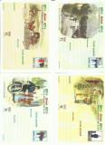 ROMANIA 1998 / 1999 - lot 7 carti postale CP - Posta Romana de ieri si de azi, Nestampilat