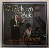 [Vinil] Händel, Zuzana Růžičková, Josef Suk – Sonaten Für Violine Und Cembalo