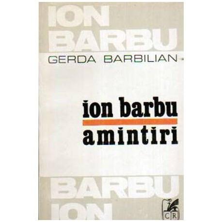 Ion Barbu - Amintiri