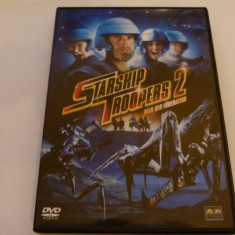 Starship troopers 2, DVD, Engleza