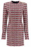 Cumpara ieftin Rochie dama Balmain sequined in tweed mini dress UF06200C263 MAW Multicolor