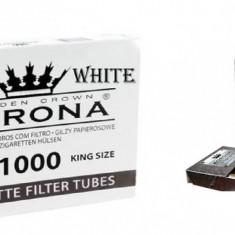 1 kg tutun din tigari de foi nu vrac, nu firicel plus tuburi tigari korona