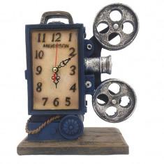 Pusculita - proiector retro cu ceas 18x23 cm