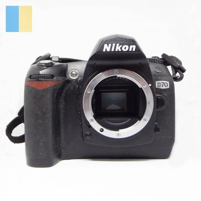 Nikon D70 (Body only) fara acumulator