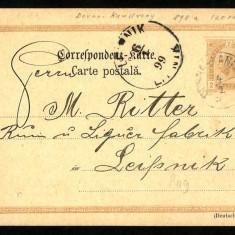 1899 Carte Postala Veche BUKOWINA Bucovina DORNA KANDRENY Dorna Candrenilor, Circulata, Fotografie