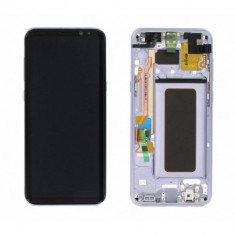 Display cu touchscreen cu rama mov samsung galaxy s8+ g955