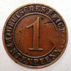 1.447 GERMANIA WEIMAR 1 RENTENPFENNIG 1923 E EROARE LIPSA 1(923)