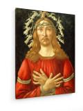 Tablou pe panza (canvas) - Sandro Botticelli - Christ as Man of Sorrows - ca. 1500
