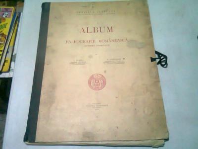 Album de paleografie romaneasca (scriere chirilica) - I. Bianu si N. Cartojan foto