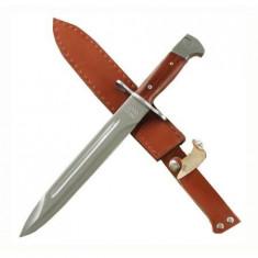 Cumpara ieftin Cutit baioneta inscriptionat AK-47 CCCP 34,5 cm + teaca