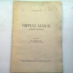 HIPPIAS MAIOR (DESPRE FRUMOS) - PLATON