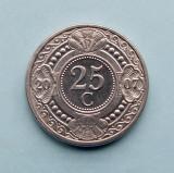 ANTILELE  OLANDEZE  -  25 Cents 2007  -  aUNC