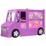 Cumpara ieftin Masina Barbie by Mattel Rulota cu mancare si accesorii