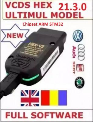 VCDS Hex V2 ARM STM32 Original 21.3 RO-EN foto