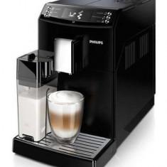 Espressor super-automat Philips EP3550/00, Sistem filtrare AquaClean, Carafa de lapte integrata, 5 setari intensitate, Optiune cafea macinata, 5 bautu