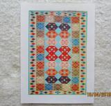 Covoare Romanesti/Handwoven Romanian Carpet.Catalog Export UCECOM '70.