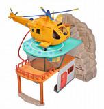 Set de joaca cu figurina Pompierul Sam si statia de salvare montana