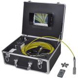 Cumpara ieftin Cameră inspecţie conducte 30 m cu comandă DVR
