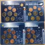 Set complet primele 12 state EURO 2002 UNC, Europa