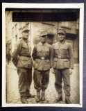 P.086 FOTOGRAFIE RAZBOI MILITARI GERMANI WWII ALPENKORPS Gebirgsjäger  9/7cm