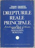 Cumpara ieftin Drepturile Reale Principale - Traian Ionascu, Salvator Bradeanu