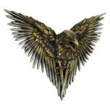 Plachetă decorativă perete Corbul cu aripi de săbii