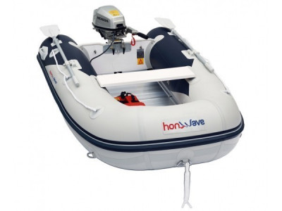 Barca Honda Honwave cu podina de aluminiu T40-AE2 foto
