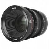 Obiectiv manual Meike 65mm T2.2 Large Aperture Manual Focus 4K Cine pentru Sony E-Mount