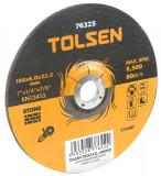 Disc abraziv pentru taiat piatra, 230 x 6 x 22 mm, Tolsen